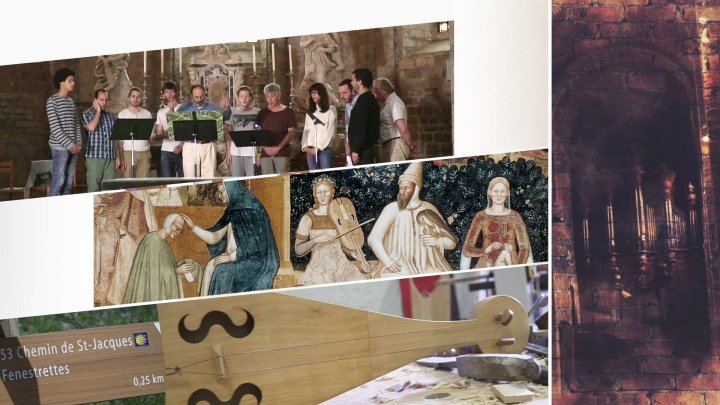 Les Marteaux de Gellone, fabrique de musiques medievales - Coulisses d'un festival