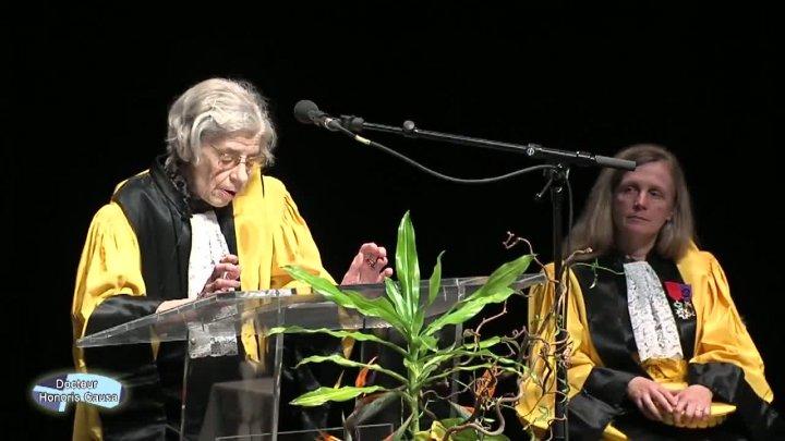 Cérémonie Honoris Causa - Halina Suwala (extrait)