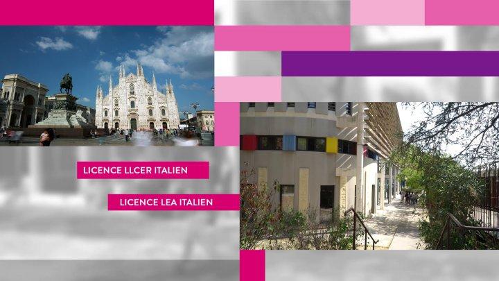 UFR2 Licences LLCER et LEA - Italien