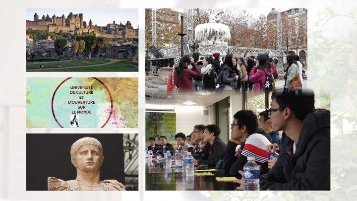 Séjour des étudiants chinois à l'UPVM, en images