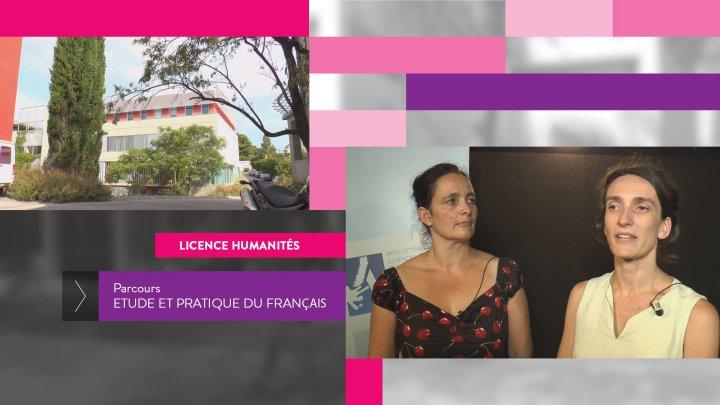 UFR1 Licence Humanités - Parcours Etude et Pratique du Français